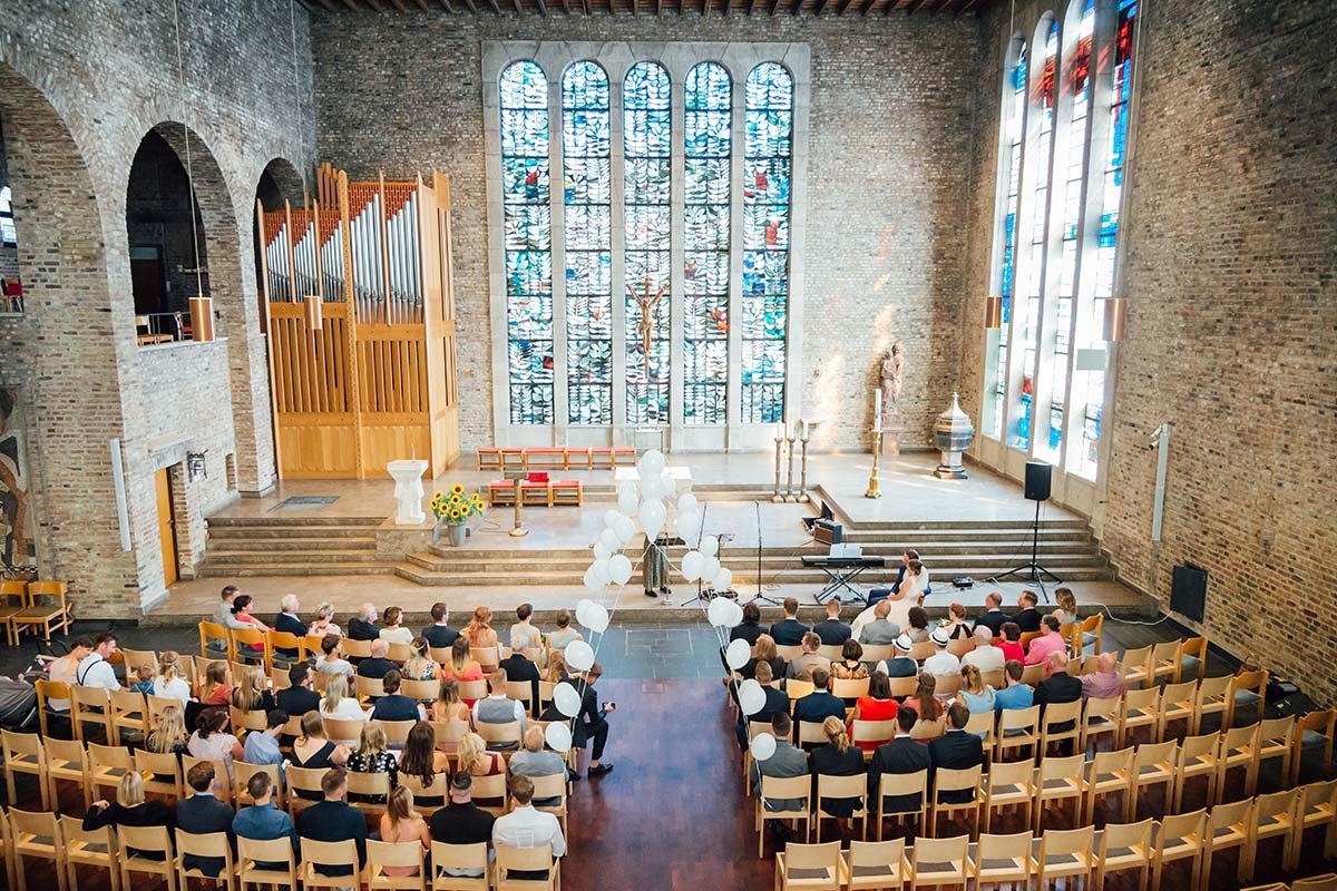 Hochzeitsfotografie Marienkirche Düren