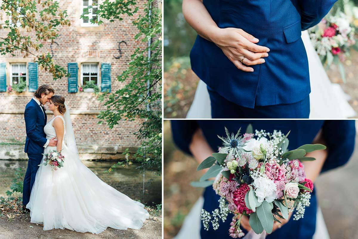 Hochzeitsfotografie Schloss Burgau