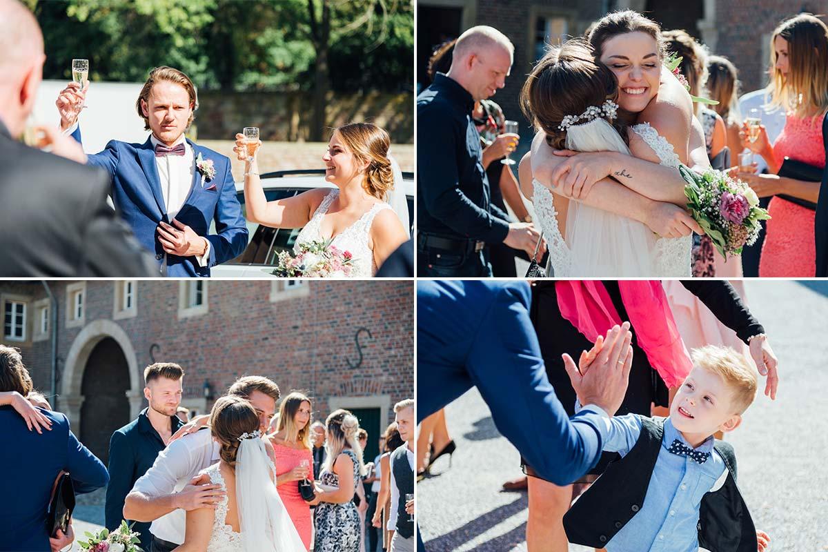 Hochzeitsgratulationen Schloss Burgau