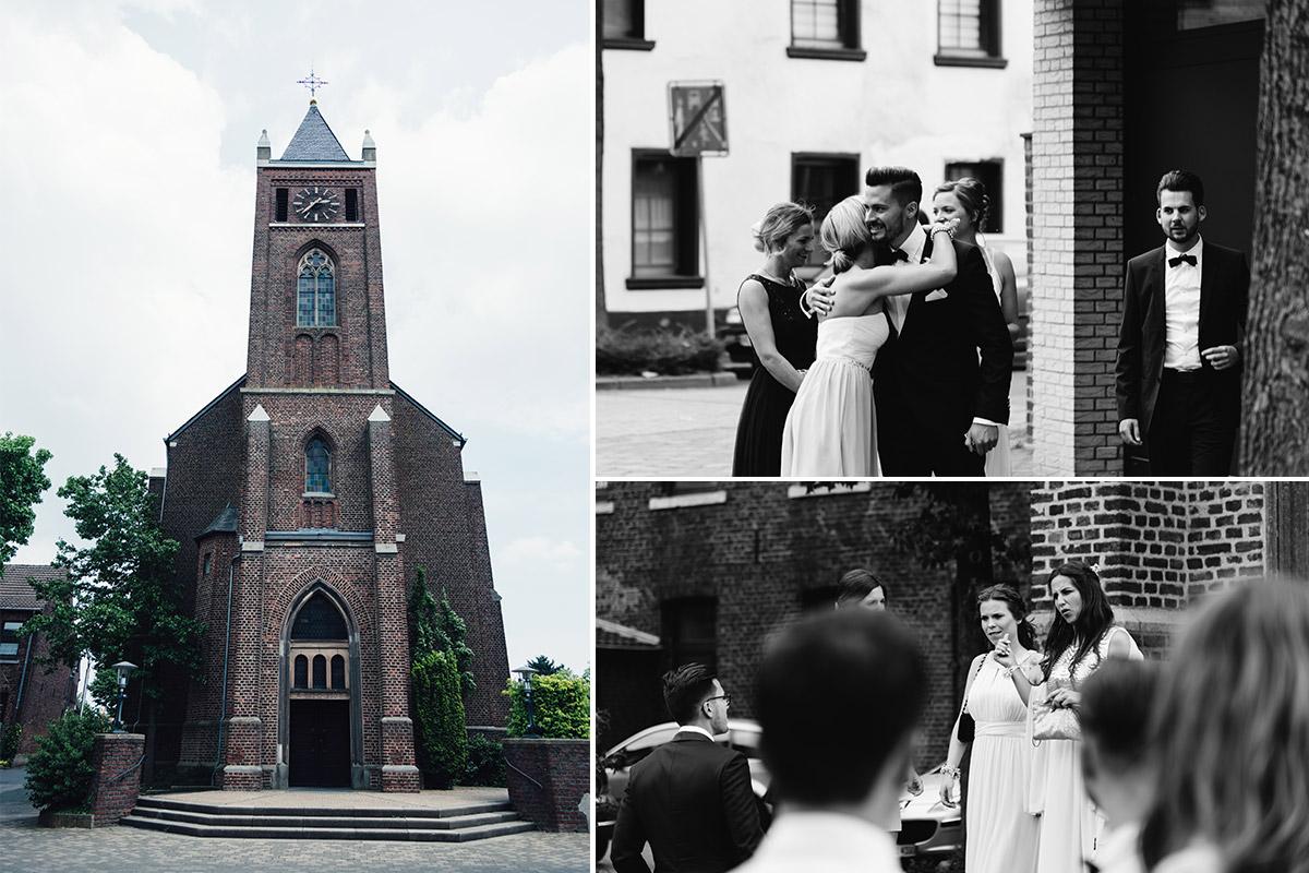 Hochzeitsreportage Kirche Beggendorf