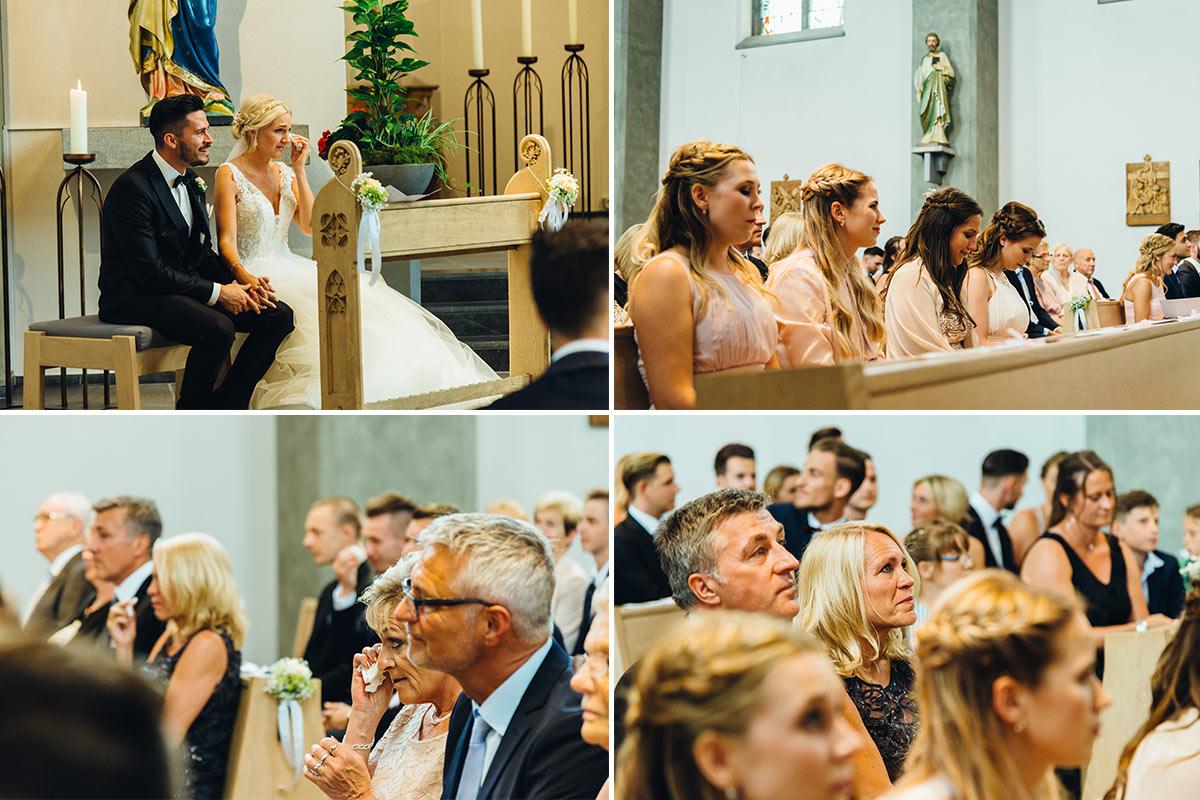 Hochzeitsreportage Kirchliche Trauung Beggendorf