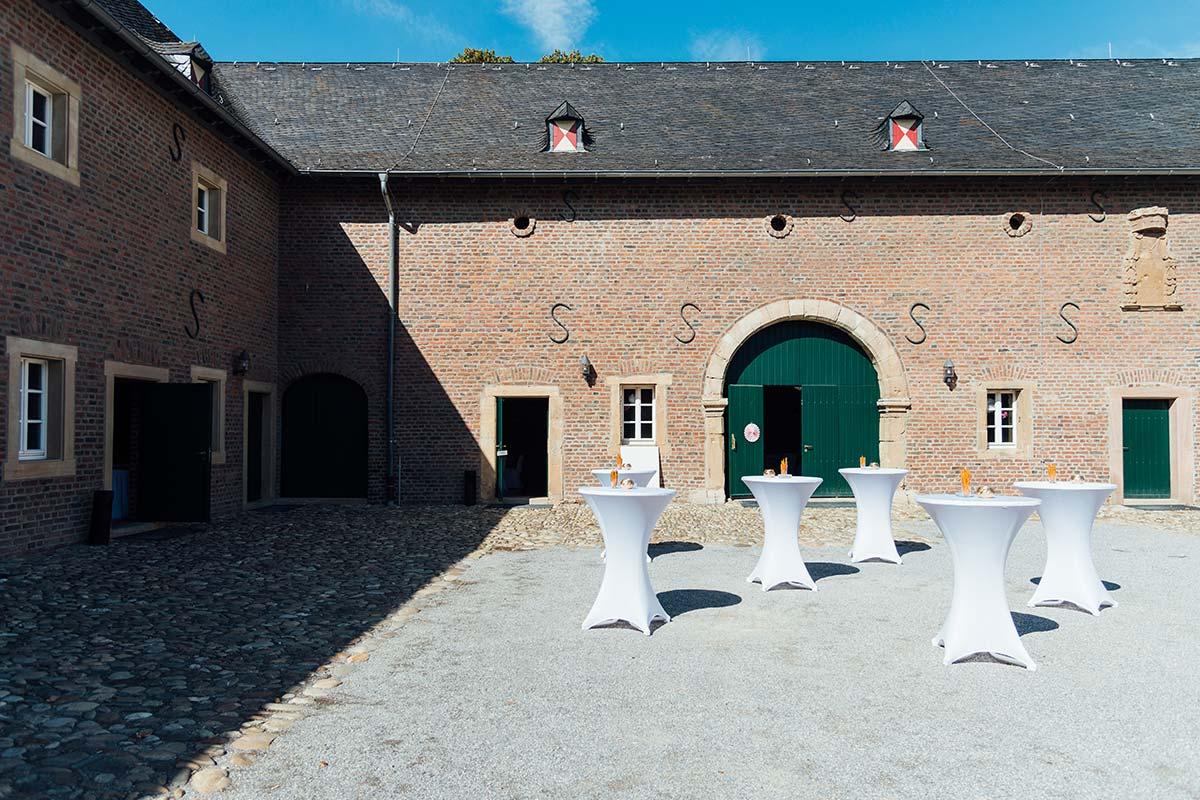 Scheune Schloss Burgau