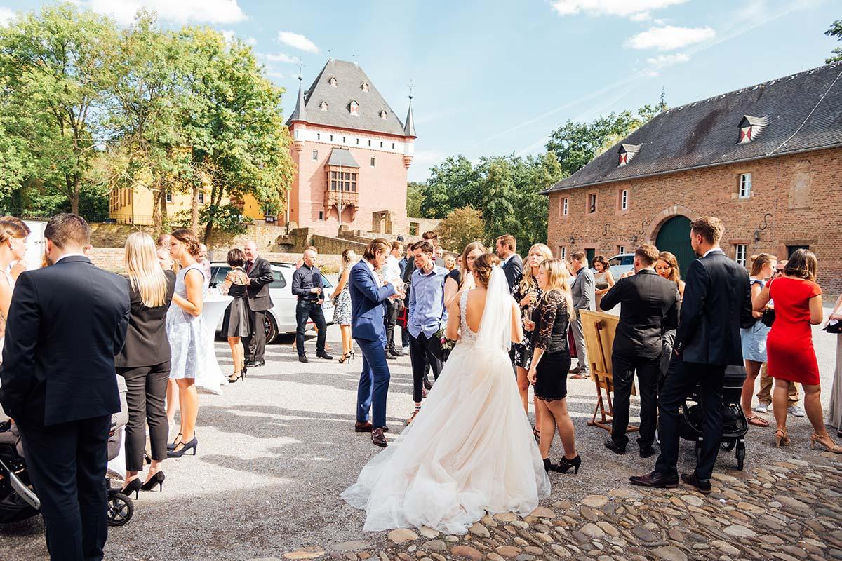 Schloss Burgau Hochzeitsfeier