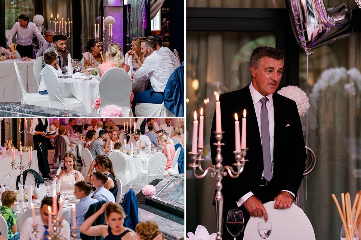 Schloss Rahe Brunnenzimmer Hochzeitsfeierlichkeiten