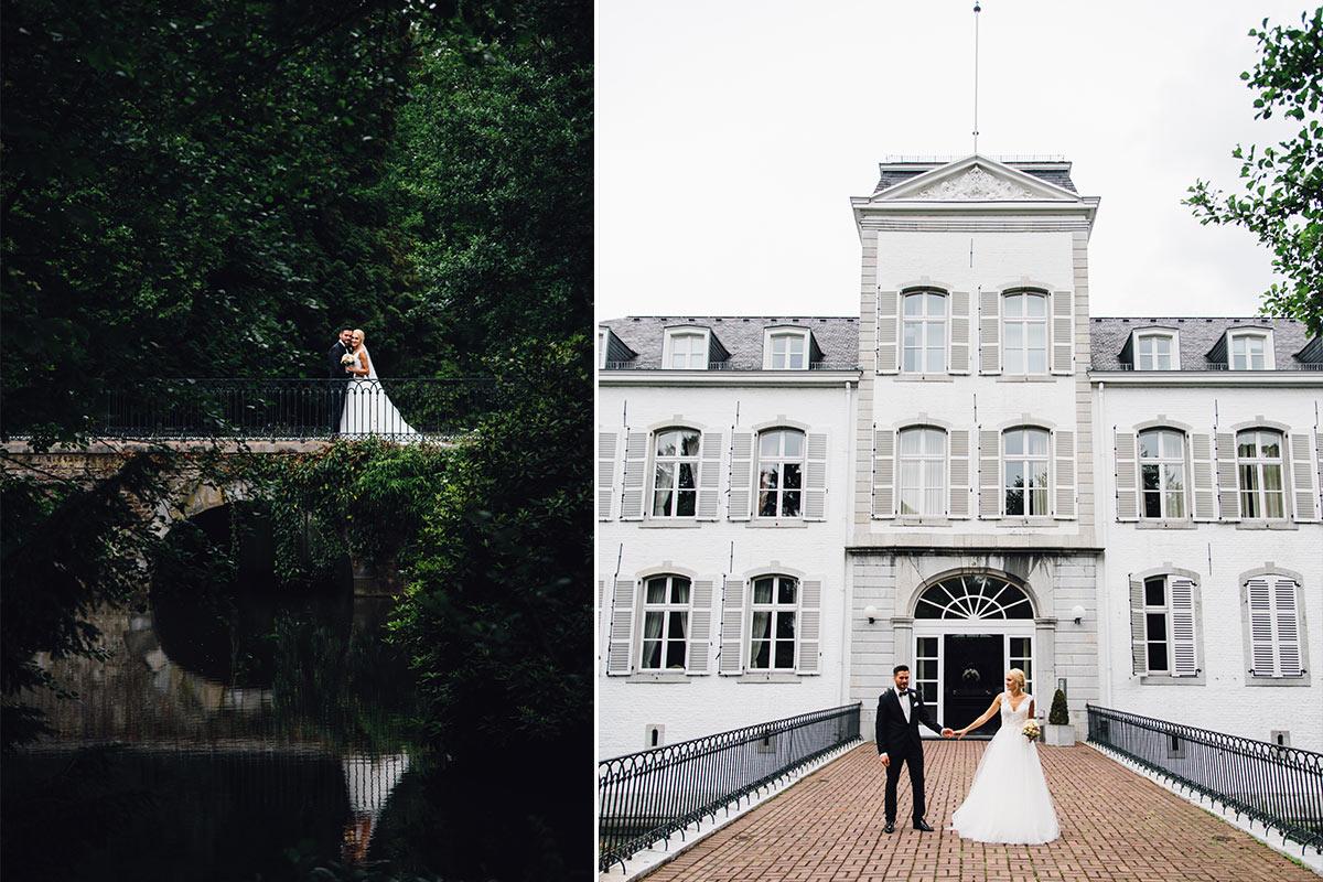 Vintage Hochzeit Schloss Rahe Aachen