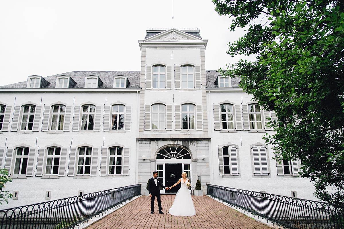 Vintage Hochzeit Schloss Rahe
