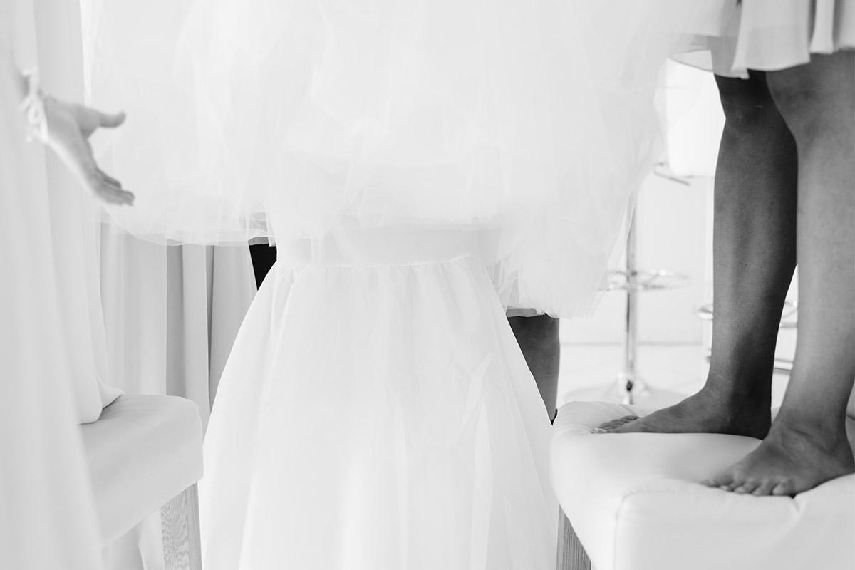 Vintage Hochzeitsreportage Getting Ready