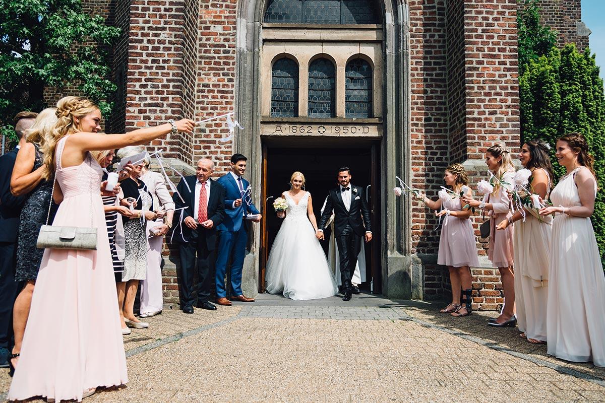 Vintage Hochzeitsreportage Kirche Beggendorf