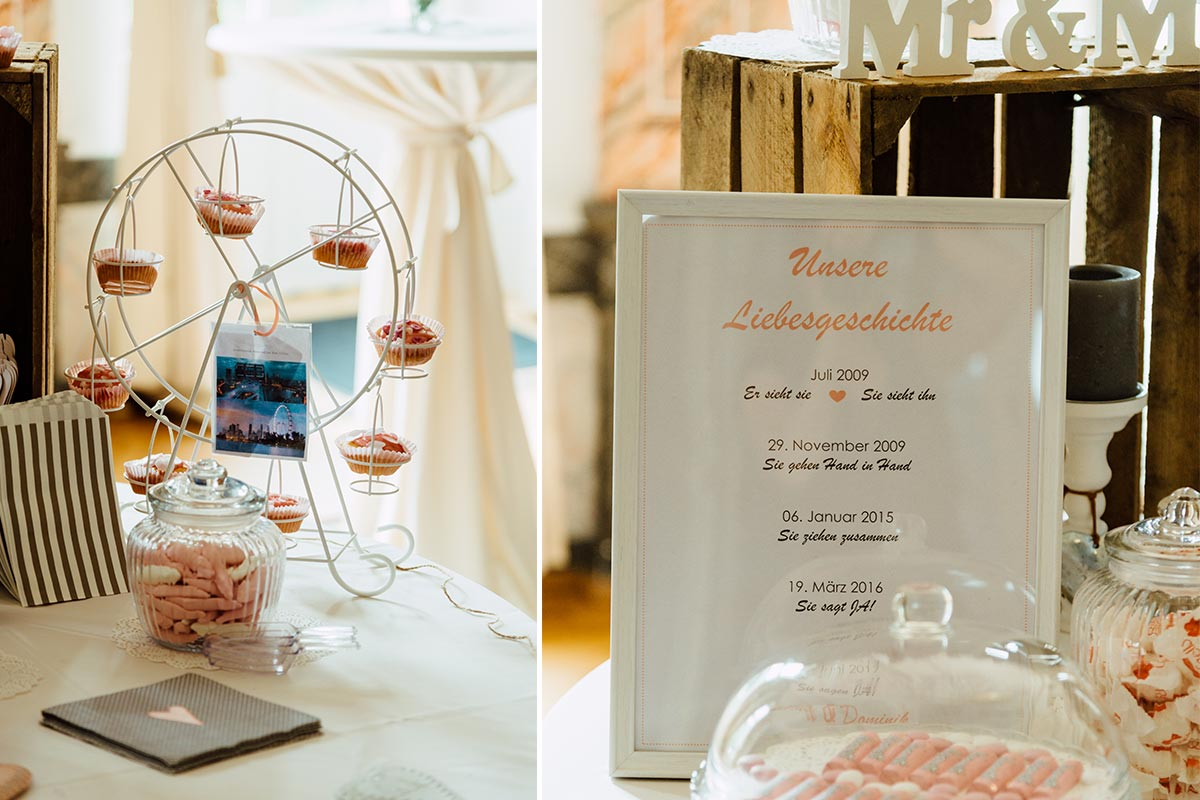 Vintage Style - Candy Bar